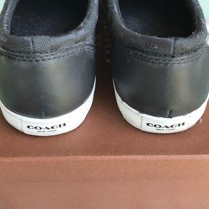Coach Shoes - Coach Slip On Black Shoes